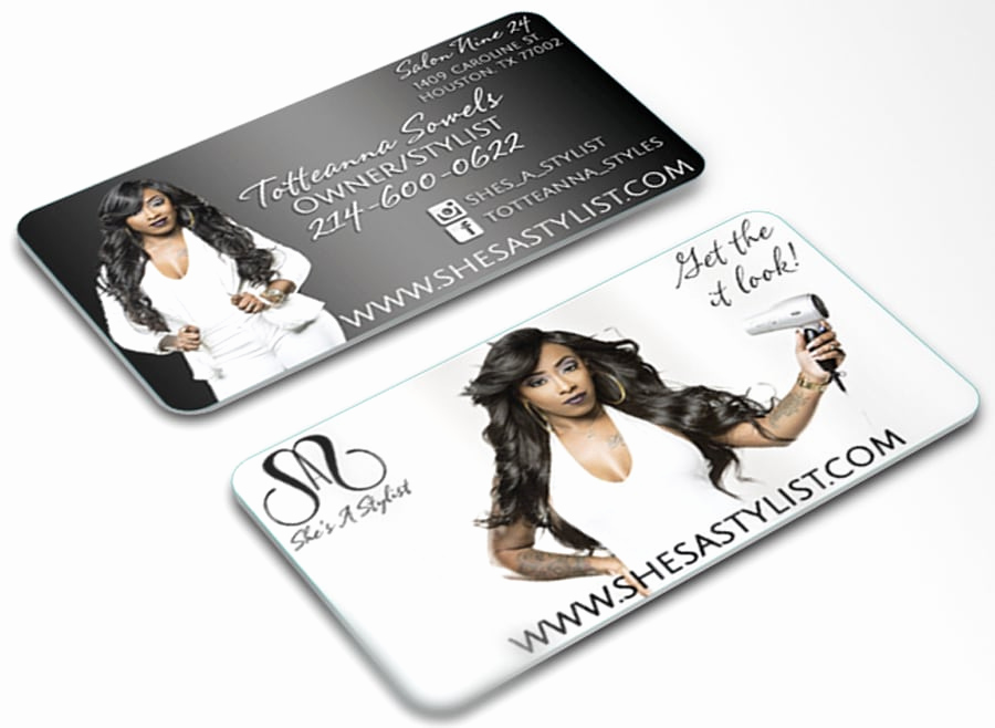 Hair Stylist Business Cards Inspirational Hair Stylist – Branding U Promotions