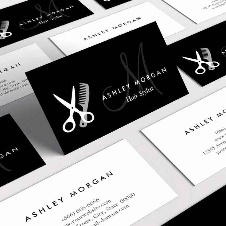 Hair Stylist Business Cards Lovely Best 25 Hairstylist Business Cards Ideas On Pinterest