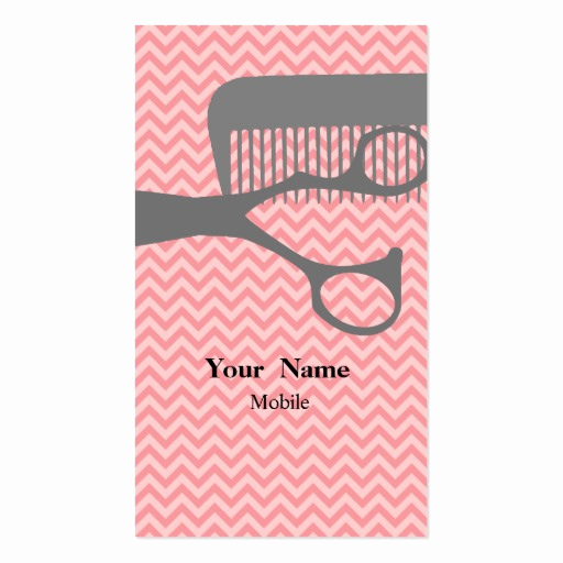 Hair Stylist Business Cards Lovely Hair Stylist Double Sided Standard Business Cards Pack