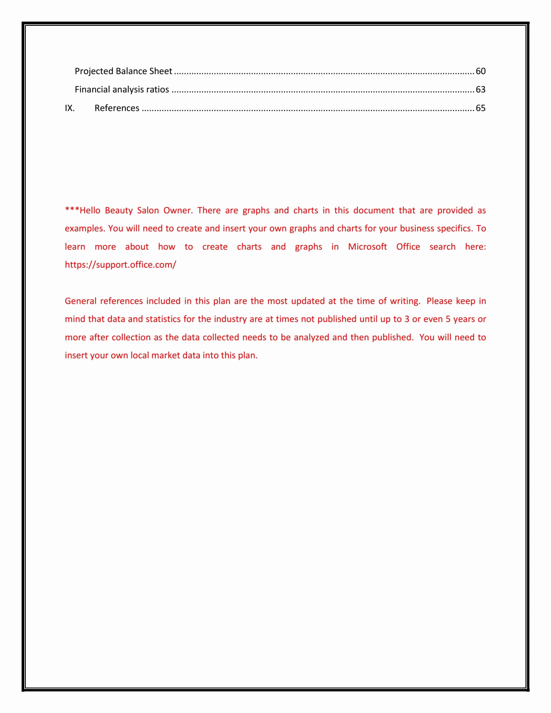 Hairdressing Salon Business Plan Awesome Hair Salon Business Plan Template Sample Pages Black Box