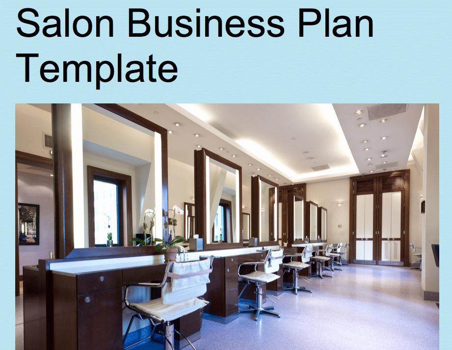 Hairdressing Salon Business Plan Beautiful Hair Salon Business Plan Template Black Box Business Plans