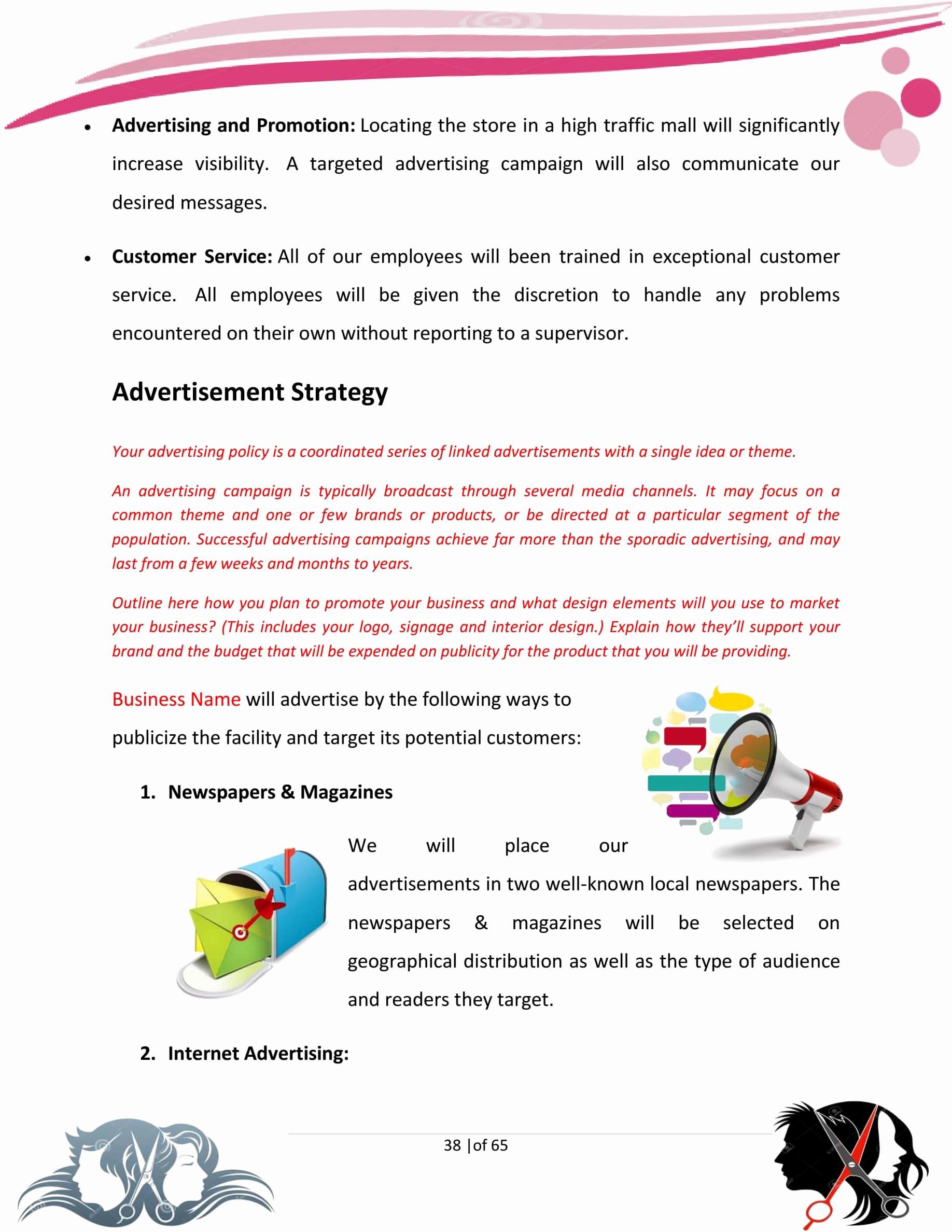 Hairdressing Salon Business Plan Lovely Hair Salon Business Plan Template Sample Pages Black Box