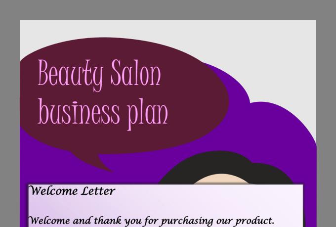 Hairdressing Salon Business Plan Lovely Send You A Full Beauty Salon Spa Business Plan