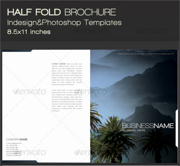 Half Fold Brochure Template Awesome Half Fold Brochure Templates 25 Download Documents In
