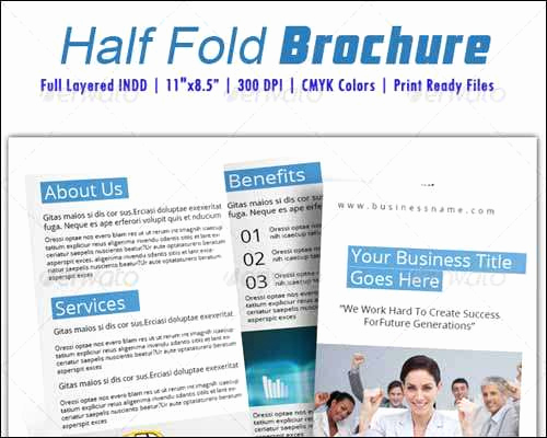 Half Fold Brochure Template Inspirational 25 Best Premium and Free Psd Brochure Templates 2014