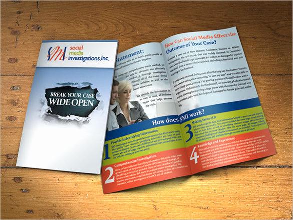 Half Fold Brochure Template New 26 Half Fold Brochures