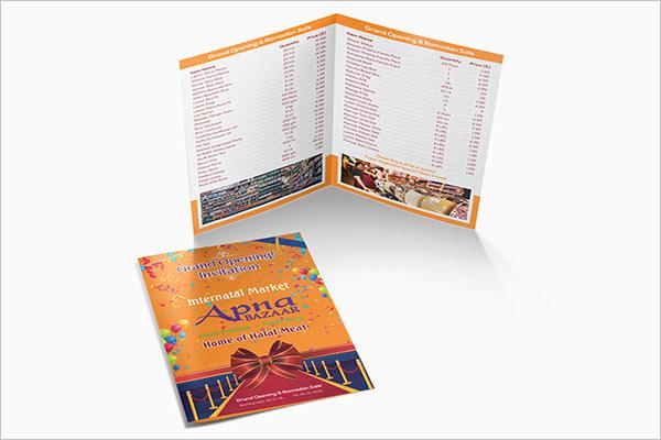 Half Fold Brochure Template New 54 Half Fold Brochure Templates Free Word Psd