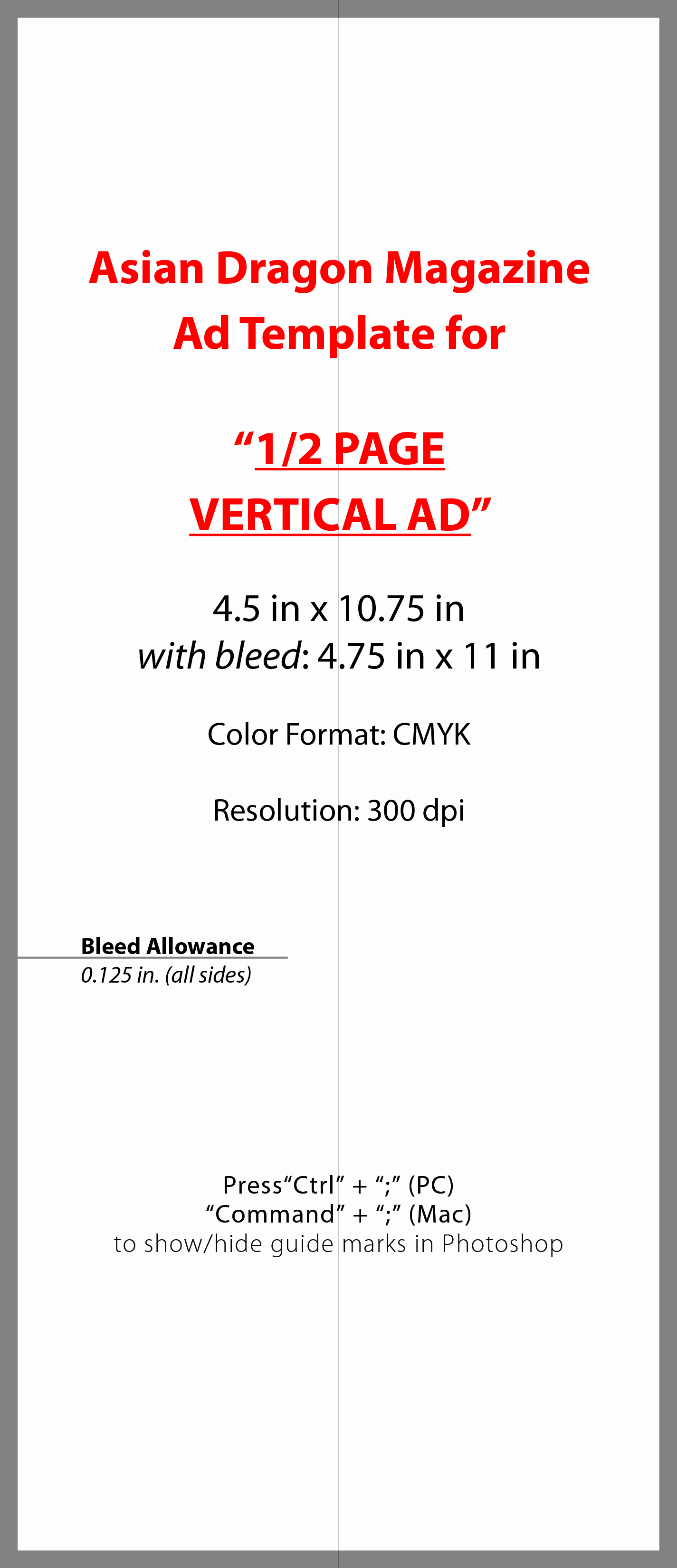 Half Page Flyer Template New Advertise