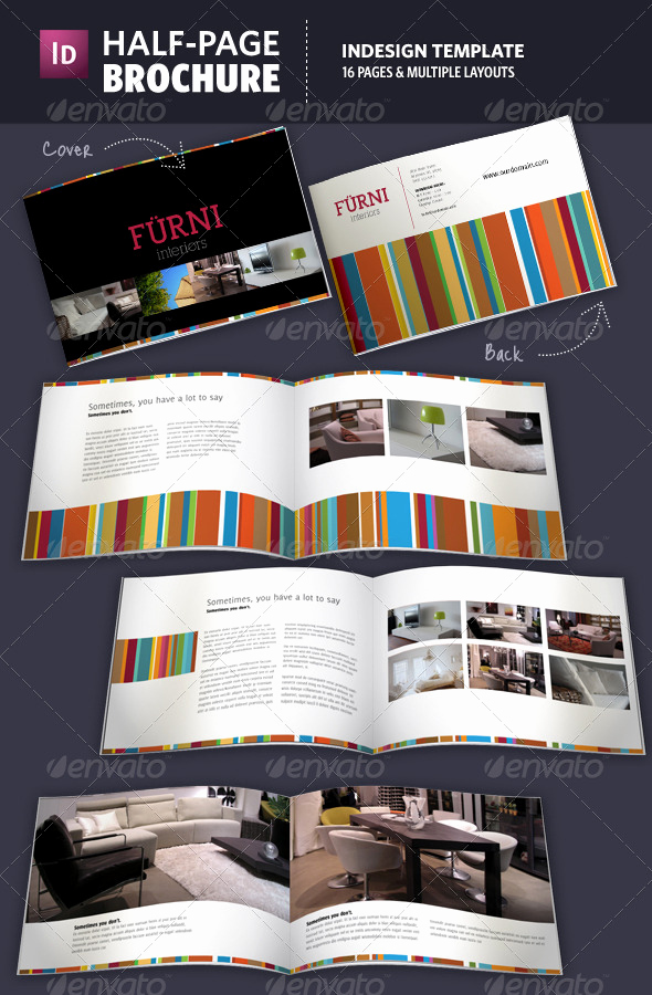 Half Page Flyer Template New Half Page Brochure Indesign Template by Adriennepalmer