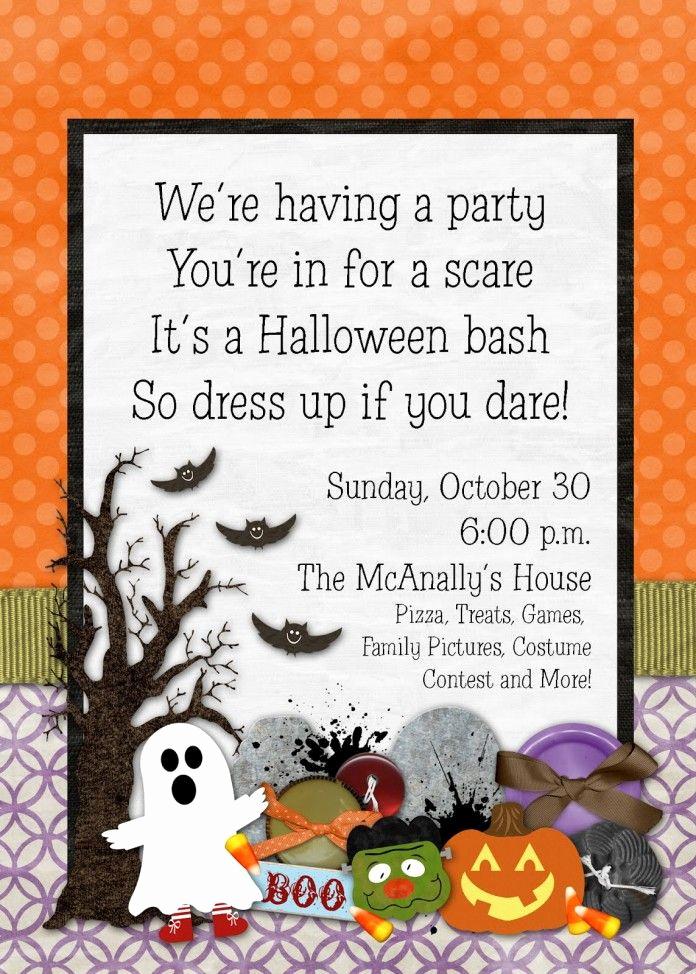 Halloween Birthday Party Invitations Elegant Birthday Invitations Spectacular Halloween Birthday