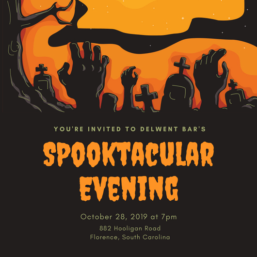Halloween Party Invitation Template Awesome Design Your Own Halloween Party Invitations