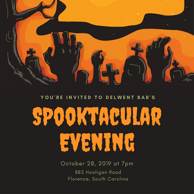 Halloween Party Invitation Template Awesome Invitation Maker Design Your Own Custom Invitation Cards
