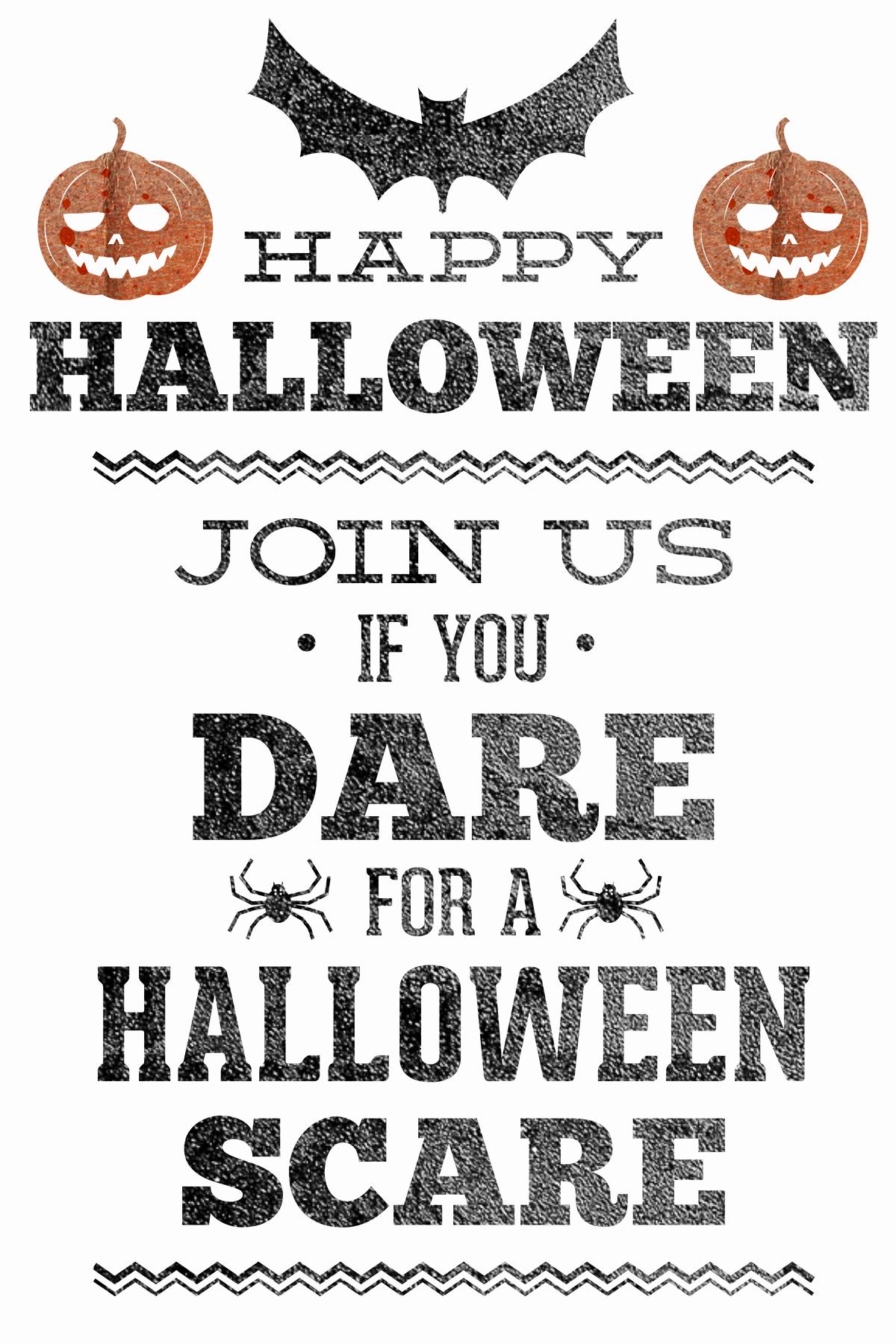 Halloween Party Invitation Template Inspirational Halloween Party Invitations Free Printable – Festival