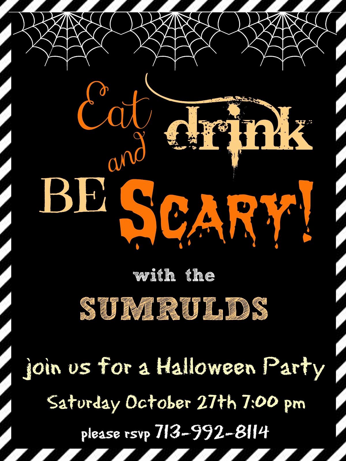 Halloween Party Invitation Template Luxury Halloween Party Invitation Templates Free – Festival