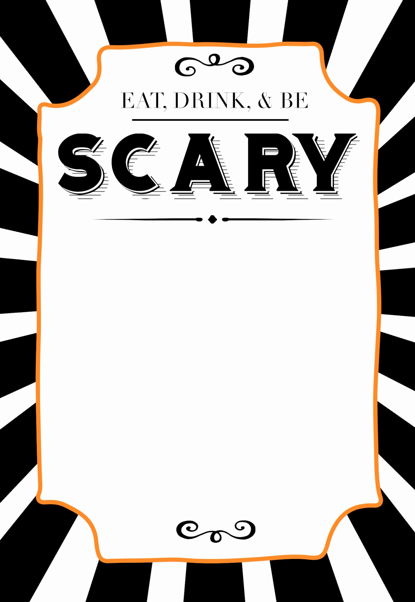 Halloween Party Invitation Template New Halloween Invitations Free Printable Template Paper