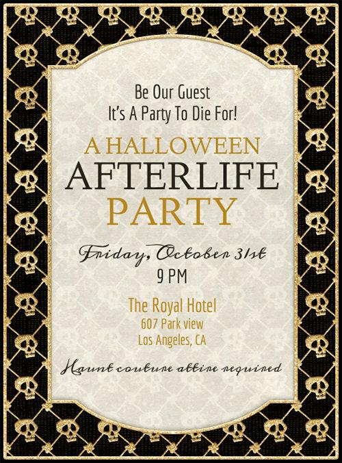 Halloween Party Invitation Template Unique 35 Halloween Invitation Free Psd Vector Eps Ai