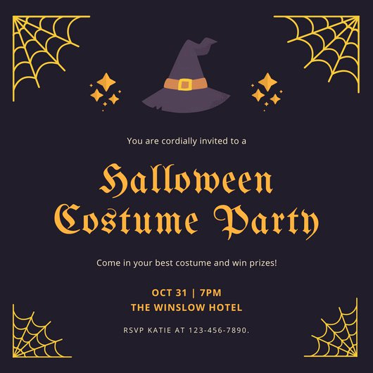 Halloween Party Invitation Templates Best Of Customize 3 999 Halloween Party Invitation Templates