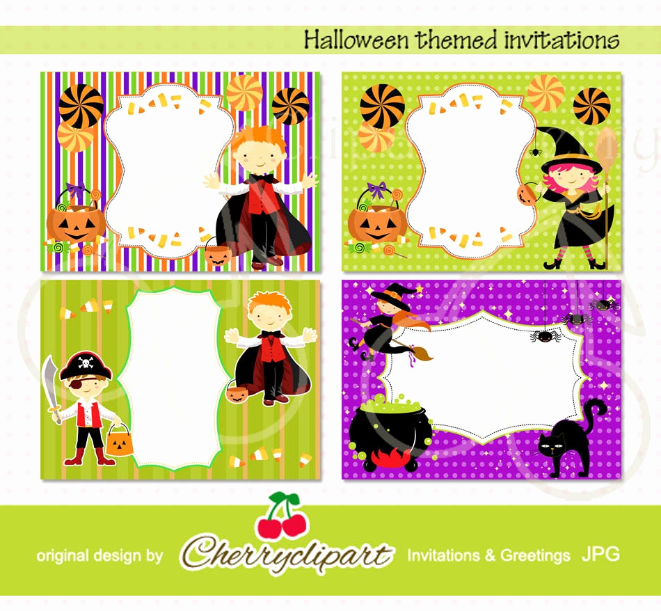 Halloween Party Invitations Templates Best Of Halloween themed Invitation Templates Personal and Mercial