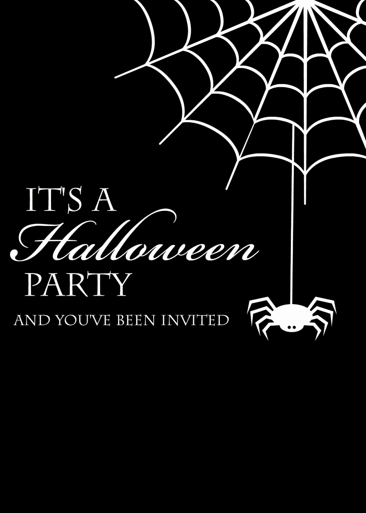 Halloween Party Invitations Templates Elegant Free Printable Halloween Invitations Crazy Little Projects