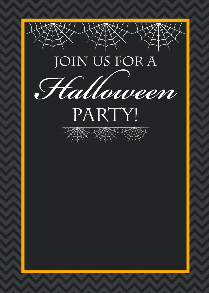 Halloween Party Invitations Templates Lovely Free Printable Halloween Party Invitations Yellow Bliss Road