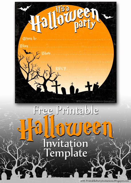 Halloween Party Invite Template Best Of Free Printable Party Invitations Spooky Graveyard