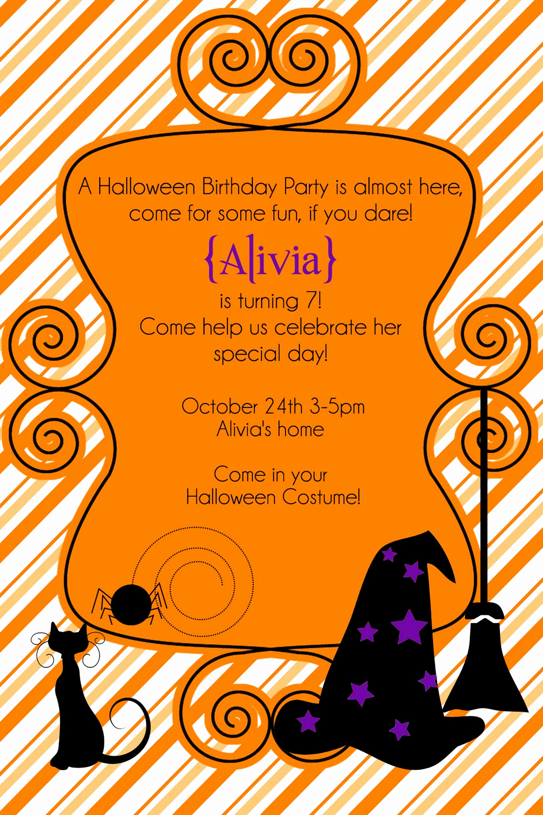 Halloween Party Invite Template Luxury Deal Seeking Graphers Featured Vendor Glorious