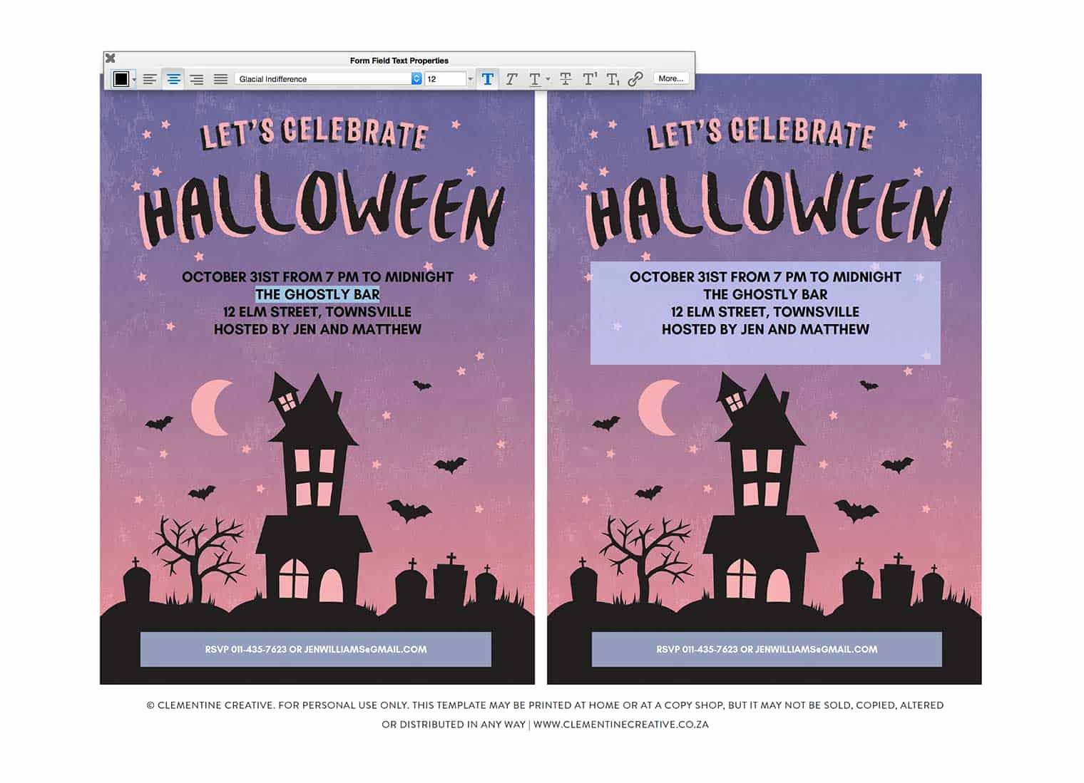 Halloween Party Invites Templates Awesome Free Printable Halloween Party Invitation Haunted House