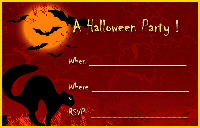 Halloween Party Invites Templates Beautiful 16 Awesome Printable Halloween Party Invitations