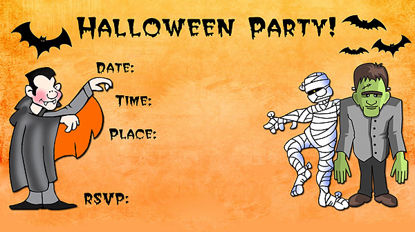 Halloween Party Invites Templates Best Of 16 Awesome Printable Halloween Party Invitations