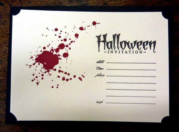 Halloween Party Invites Templates New Halloween Invitation Template – Festival Collections
