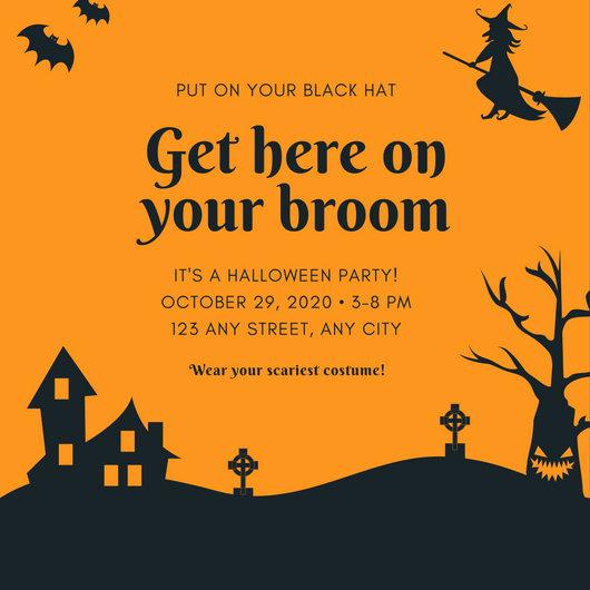 Halloween Party Invites Templates Unique Customize 3 999 Halloween Party Invitation Templates