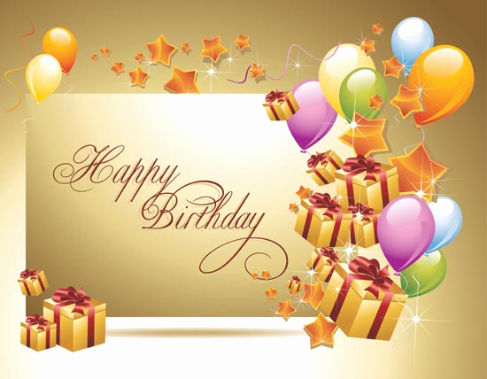 Happy Bday Wallpapers Free Awesome Beautiful Happy Birthday Wallpaperswallpaper Background