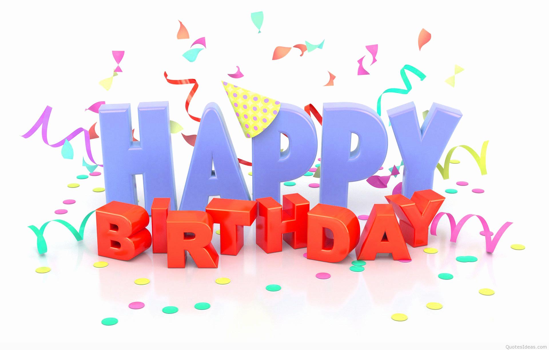 Happy Bday Wallpapers Free Luxury Happy Birthday Wishes Quotes