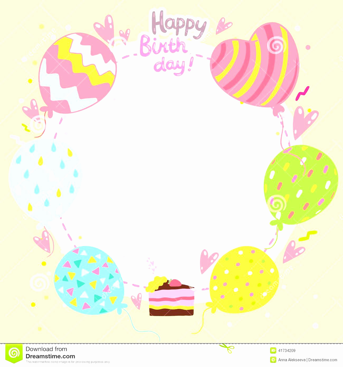 Happy Birthday Card Template Awesome Birthday Card Template