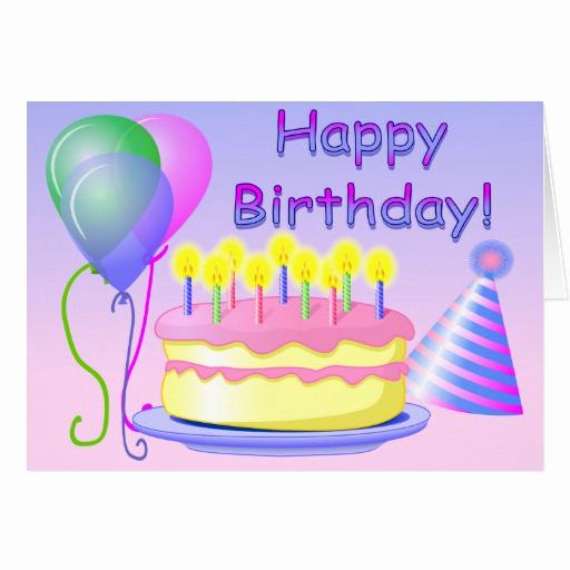 Happy Birthday Card Template Beautiful Happy Birthday Card Template