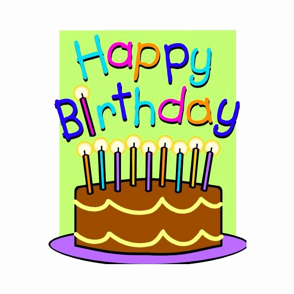 Happy Birthday Card Template Best Of Free Publisher Birthday Card Templates to Download