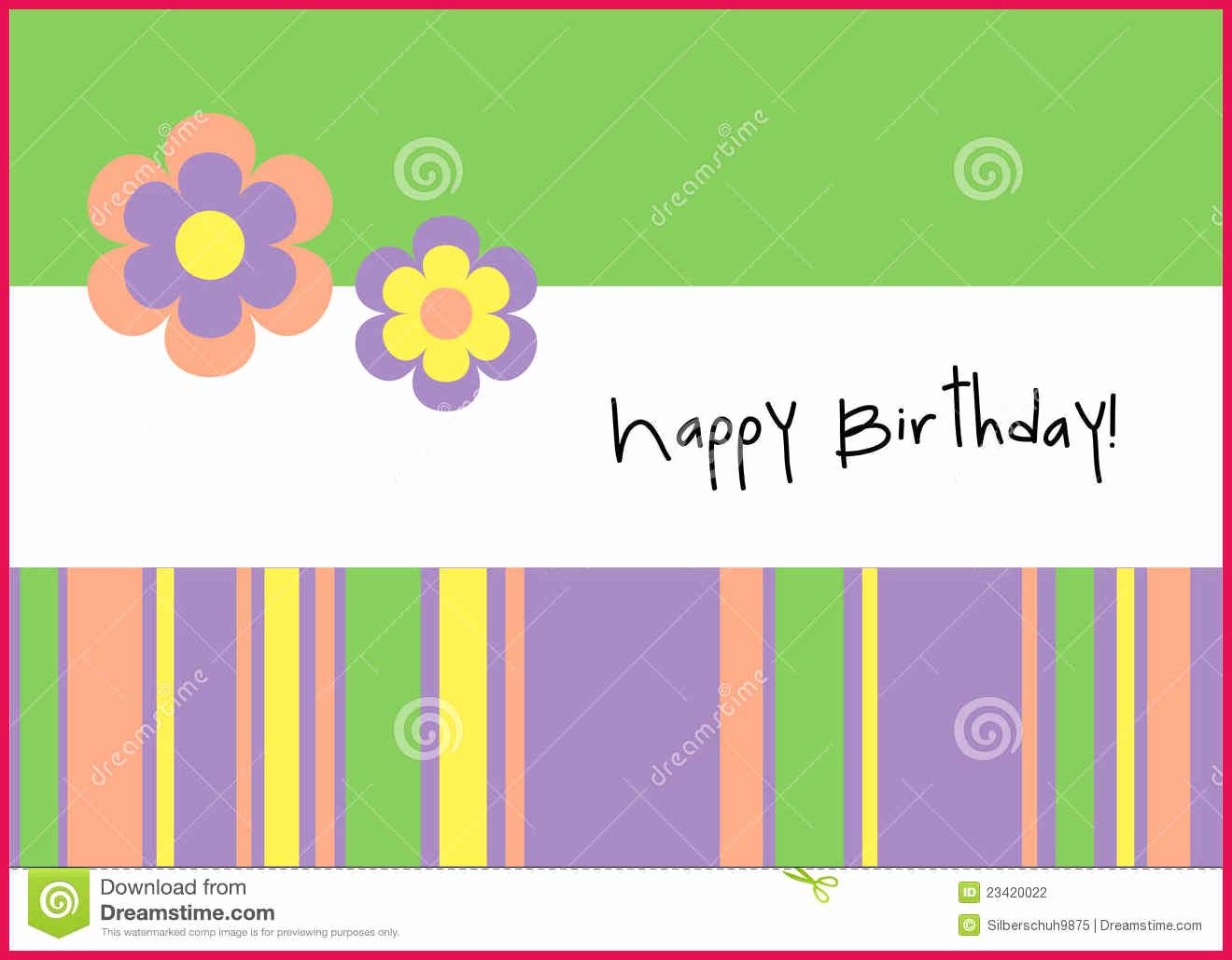 Happy Birthday Card Template Elegant Happy Birthday Card Template