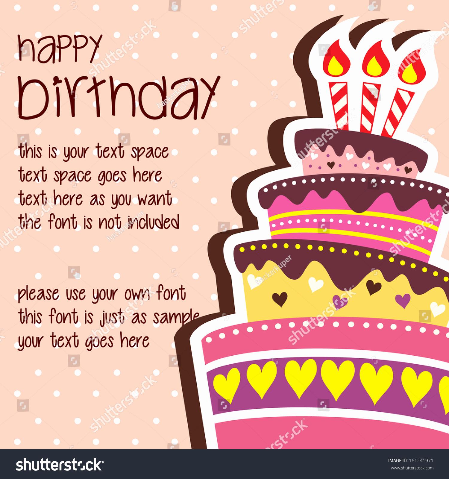 Happy Birthday Card Template Lovely Birthday Card Template