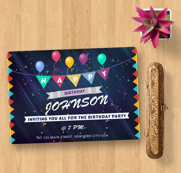 Happy Birthday Card Template New Word Birthday Cards 511 Free Word Documents Download