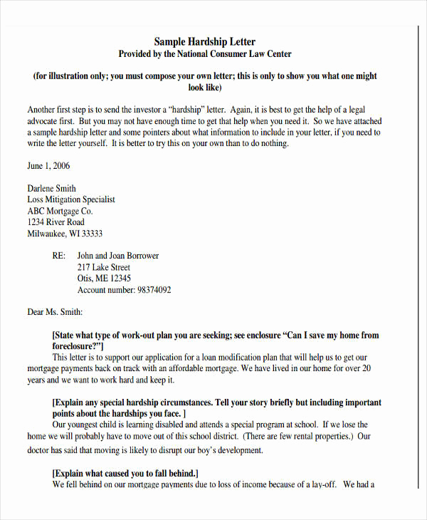 Hardship Letter for Mortgage Awesome Hardship Letter for Immigration for My Husband