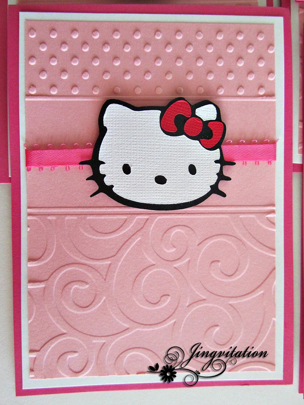 Hello Kitty Bday Invitations Fresh Hello Kitty Birthday Party Baby Shower Invitations