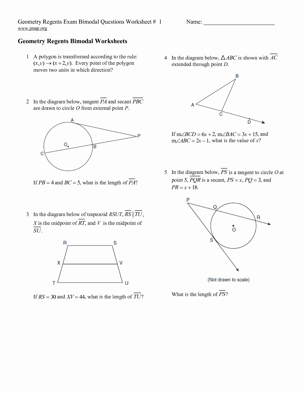 High School Geometry Worksheets Beautiful 11 Best Of Basic High School Geometry Worksheets