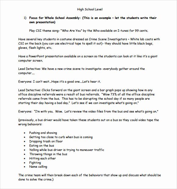 High School Lesson Plan Template Lovely Sample High School Lesson Plan 10 Documents In Pdf Word