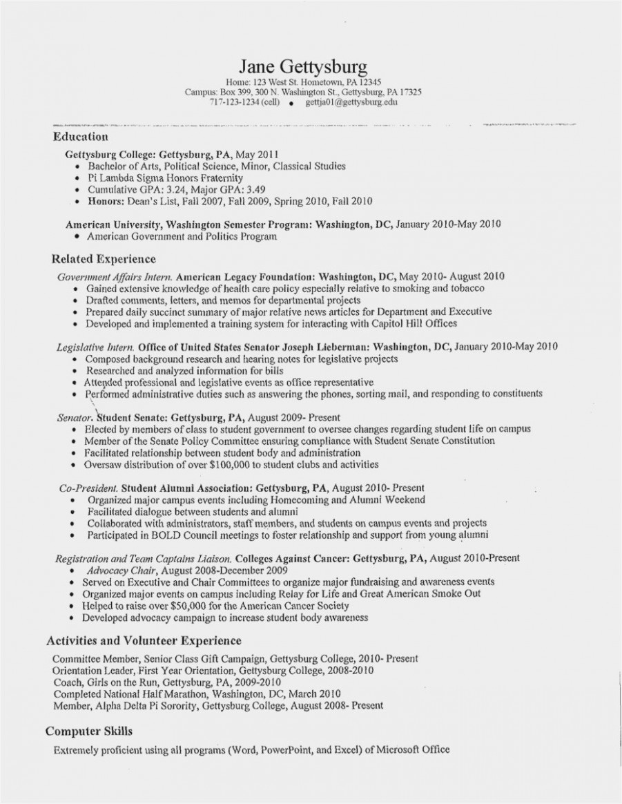 High School Resume Builder New Most Effective Ways to Over E Resume