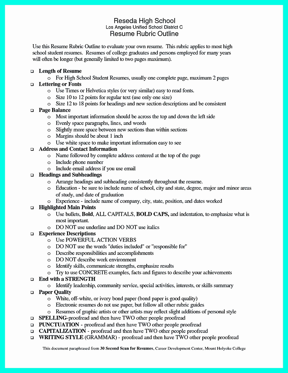 High School Student Resume Examples Awesome Best College Student Resume Example to Get Job Instantly