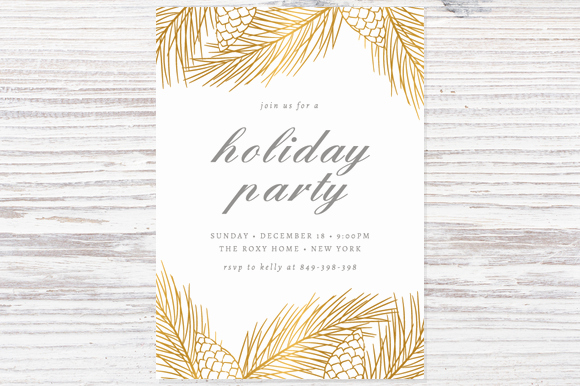 Holiday Party Invitation Template Elegant 16 Shop Invitation Template Deals