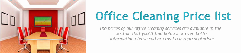 cleaning services price list