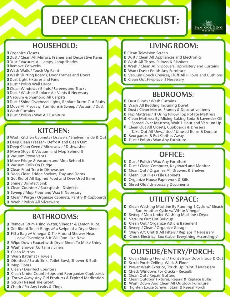 Home Cleaning Services Price List Luxury the 14 Best Checklists to Clean Your Bedroom for Adults