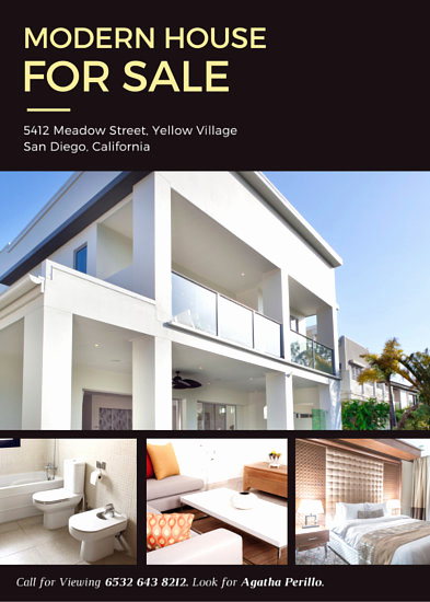 Home for Sale Flyer Awesome Customize 101 Real Estate Flyer Templates Online Canva