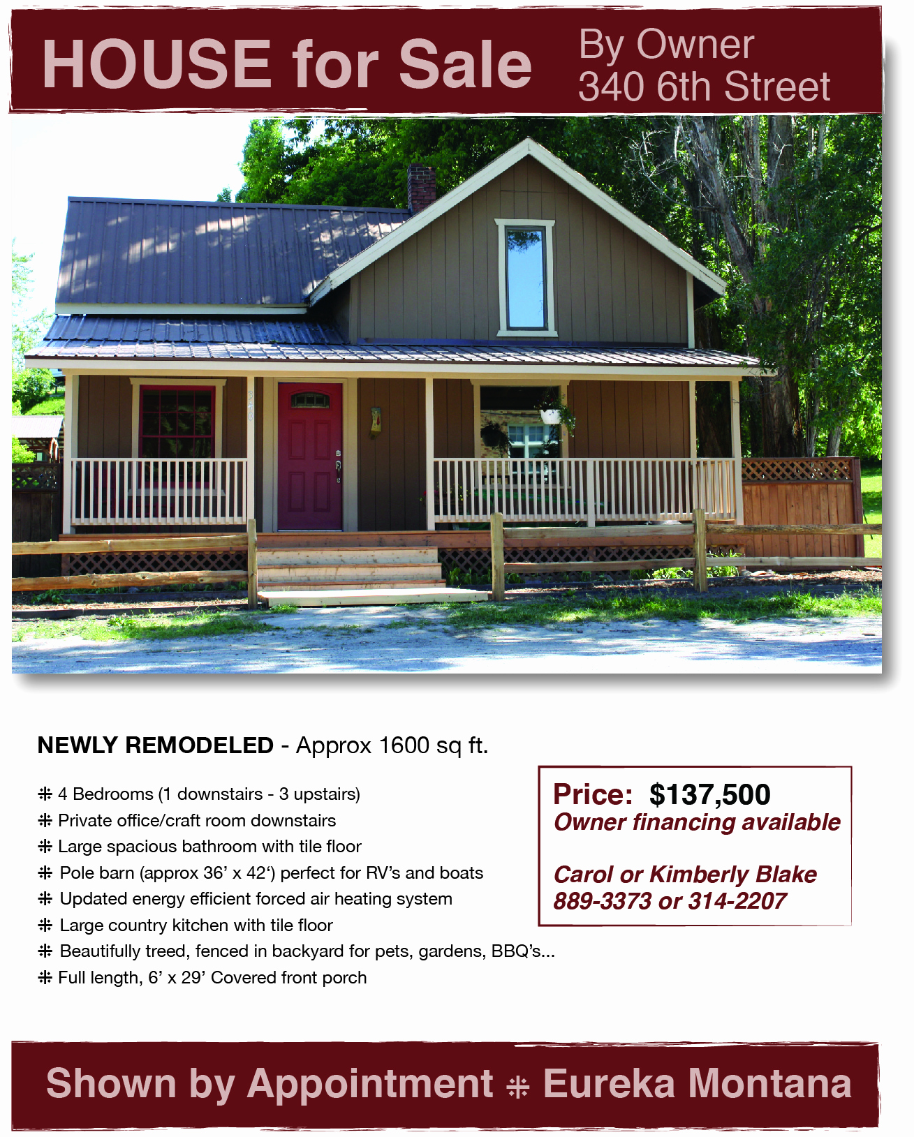 Home for Sale Flyer Best Of Newly Remodeled House for Sale